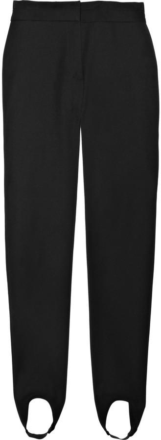 Stella McCartney Stretch-cotton stirrup leggings