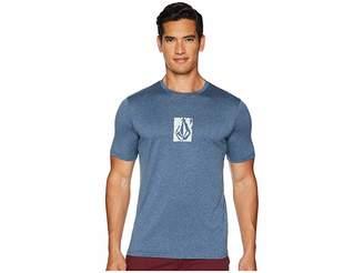 Volcom Lido Pixel Heather Lycra Short Sleeve Men's Clothing
