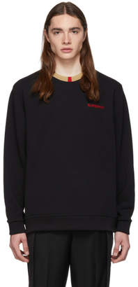 Burberry Black Icon Stripe Jarrad Sweatshirt