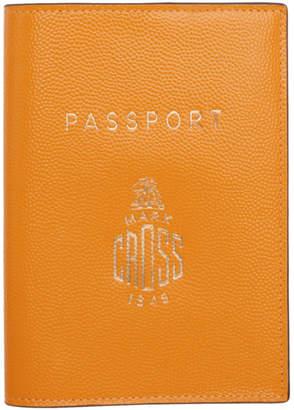 Mark Cross Yellow Passport Holder