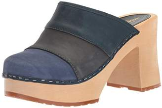 Swedish Hasbeens Women's Color Combo Slip In Sandal