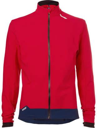 Soar Running Weatherproof Stretch-Jersey Jacket