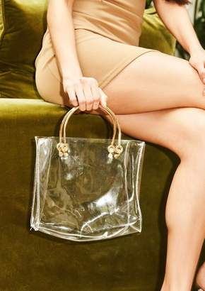 5f4db8b8717 Missy Empire Missyempire Renea Perspex Square Bag