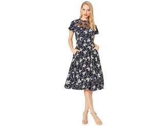 Unique Vintage 1940s Style Jessie Swing Dress
