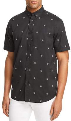 Rag & Bone Smith Patterned Button-Down Shirt