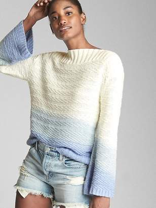 Gap Textured Ombre Pullover Sweater