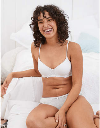 aerie Hannah Demi Coverage Lightly Lined Bra