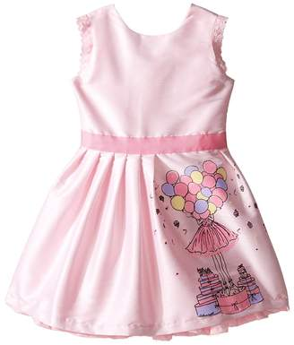 fiveloaves twofish Birthday Balloon Dress Girl's Dress
