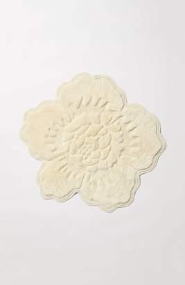 Anthropologie Fancy Flower Sculpted Bath Rug