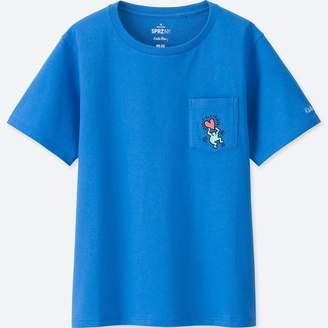 Uniqlo WOMEN SPRZ NY Graphic T-Shirt (Keith Haring)