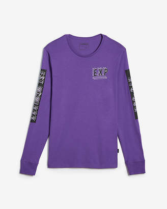Express Long Sleeve Exp Logo Graphic Tee