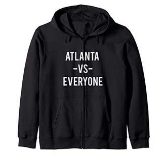 Victoria's Secret Atlanta Everyone Sports Lover City Pride Gift Zip Hoodie
