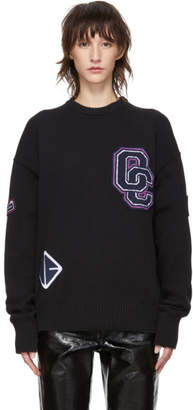 Opening Ceremony Black Varsity Sweater