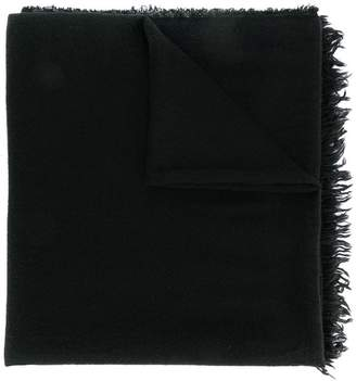 Rick Owens fine knit scarf