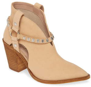 Chinese Laundry Tabby Studded Western Bootie
