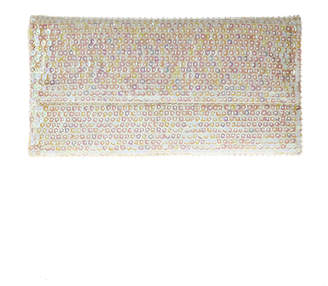 tu-anh White Large Clutch