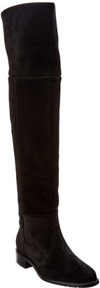 Aquatalia Nita Waterproof Suede Over-The-Knee Boot