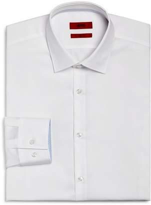 HUGO Contrast Cuff Slim Fit Dress Shirt