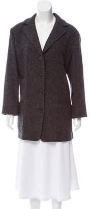 Kiton Tweed Short Coat