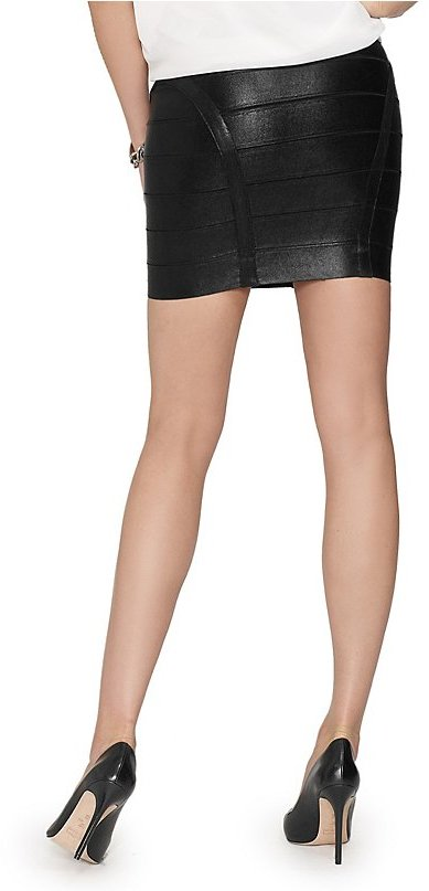 GUESS by Marciano Iris Bandage Skirt