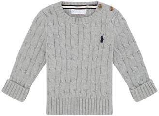 Polo Ralph Lauren Cotton Cable Knit Sweater