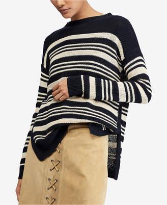 striped polo dress black sweater ralph lauren