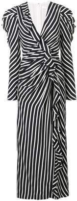 Jonathan Simkhai striped gathered dress