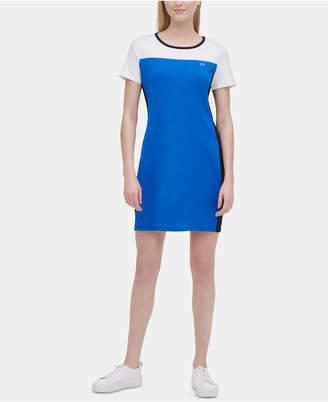 Calvin Klein Colorblocked T-Shirt Dress