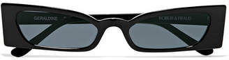 Roberi & Fraud - Geraldine Square-frame Acetate Sunglasses - Black
