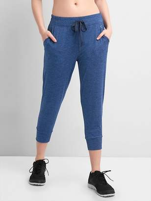 Gap GapFit Cropped Joggers in Brushed Jersey