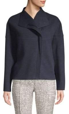 Akris Punto Asymmetric Front-Zip Jacket