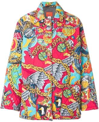 Kenzo Pre-Owned Jungle padded coat