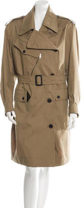 Burberry Prorsum Belted Trench Coat $535 thestylecure.com