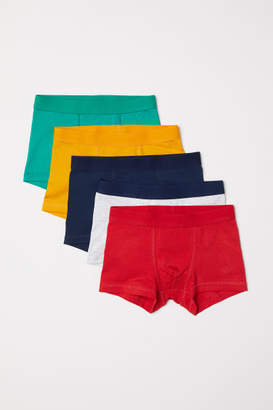 H&M 5-pack Boxer Shorts - Yellow