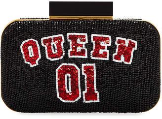 Alice + Olivia Shirley Queen 01 Beaded Clutch Bag