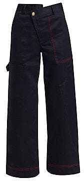 Monse Women's Wide-Leg Cargo Pants - Size 0
