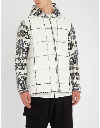 Comme des Garcons Text-print shell jacket