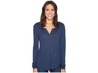 NYDJ Henley Women's Long Sleeve Pullover