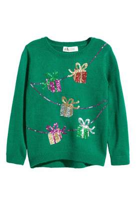 H&M Sweater with Sequins