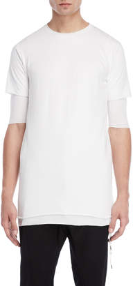Army Of Me Double Layer Longline Tee