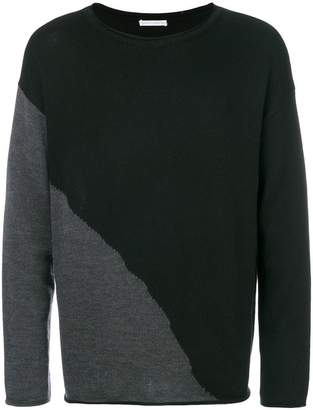 Societe Anonyme contrast knit sweater