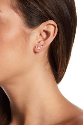 Sterling Forever 14K Gold Vermeil Opal Earrings