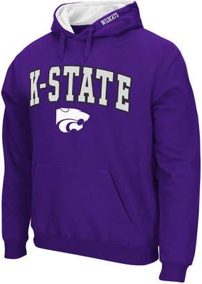Colosseum Men's Kansas State Wildcats Arch Logo Hoodie