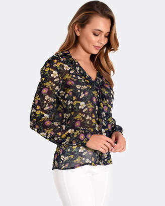 Forcast Miriam Collared Blouse