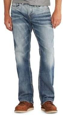 Silver Jeans Bootcut Leg Denim Pants
