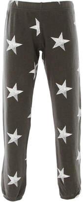 Monrow Oversized Star Elastic Waist Sweats