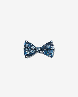 Express Oversized Floral Liberty Fabric Cotton Bow Tie