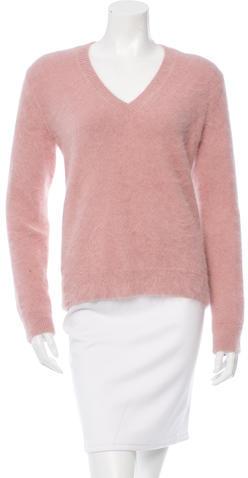 GucciGucci V-Neck Angora Sweater