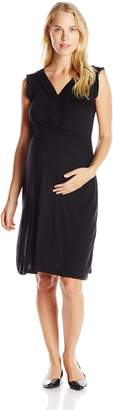 Everly Grey Women's Maternity Ari Sleeveless V-Neck Maternity Dress