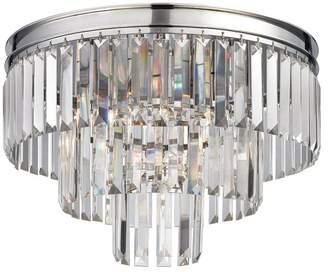 ELK Lighting Palacial 3-Light LED Semi Flush